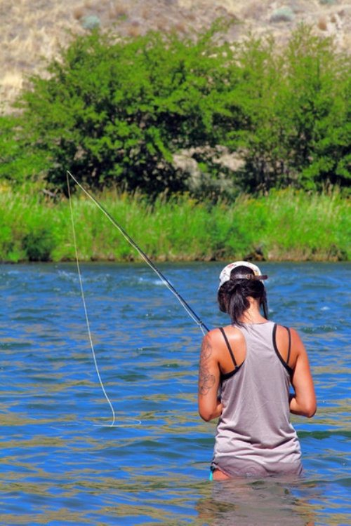 girls-fly-fishing-30-1 - fly fishing rod, reel and gear reviews, Fly Fishing Bait