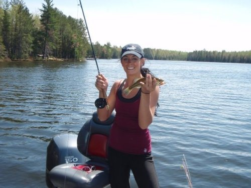 Love the smile that catching a fish brings.
