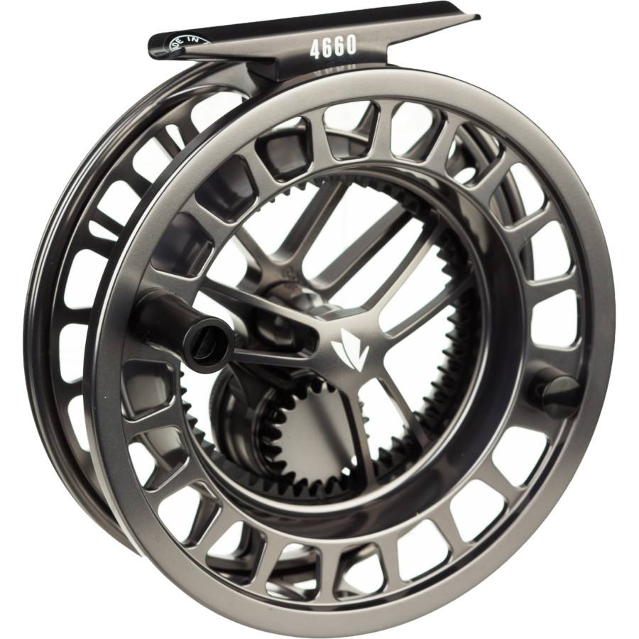 the reel deal hatch 5 fly reel vs sage 4600 fly reel
