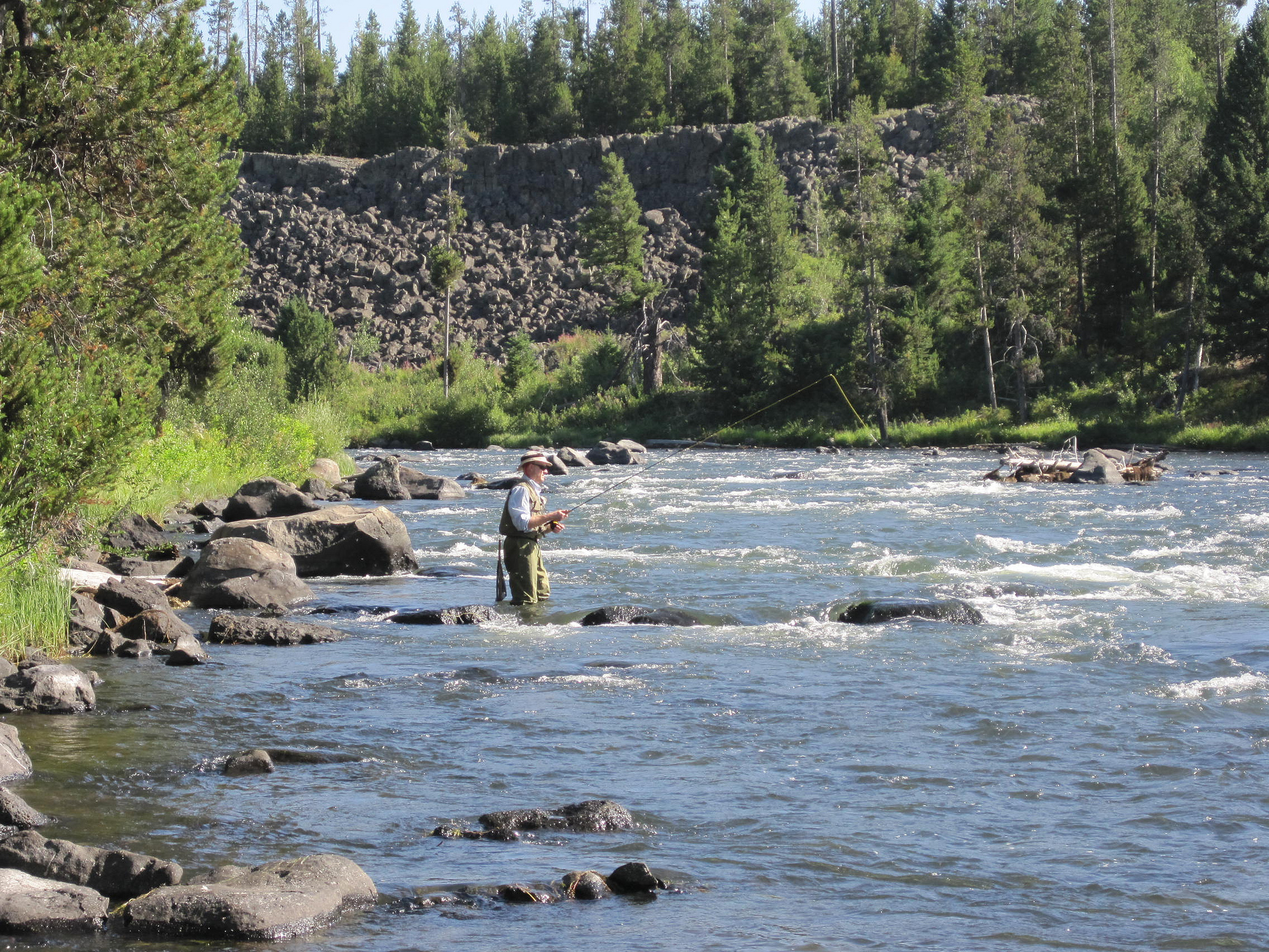 the best places to fly fish in wyoming fly fishing rod